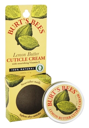 Burt's Bees - Lemon Butter Cuticle Cream with Nourishing Vitamin E - 0.6 oz.