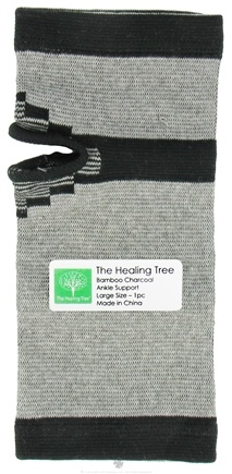 """DROPPED: The Healing Tree - Bamboo Charcoal Ankle Support Large Size 4.0"""" x 9.25"""" - CLEARANCE PRICED"""