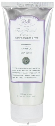 DROPPED: Belli - Foot Relief Cream - 6.7 oz. CLEARANCE PRICED