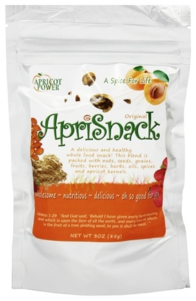 DROPPED: Apricot Power - ApriSnack Original B-17 Rich Superfood - 3 oz.