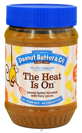 DROPPED: Peanut Butter & Co. - The Heat Is On Peanut Butter Blended with Fiery Spices - 16 oz.