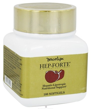 DROPPED: Naturally Vitamins - Hep-Forte - 100 Softgels CLEARANCE PRICED