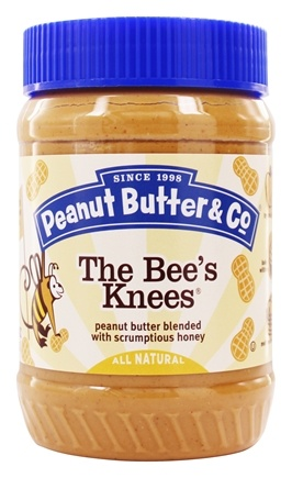 Peanut Butter & Co. - The Bees's Knees Peanut Butter Blended with Scrumptious Honey - 16 oz.