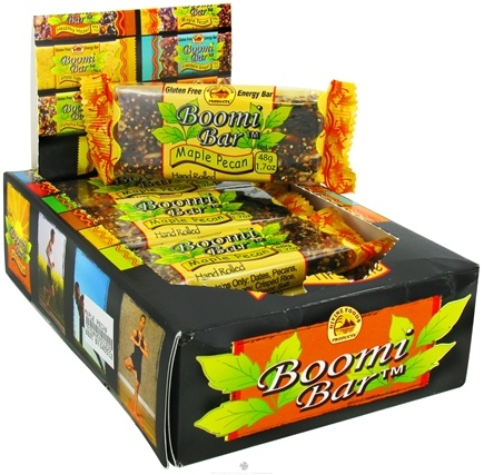 DROPPED: Boomi Bars - Gluten Free Energy Bar Maple Pecan - 1.7 oz. CLEARANCE PRICED