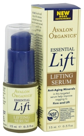 DROPPED: Avalon Organics - Essential Lift Lifting Serum - 0.5 oz.