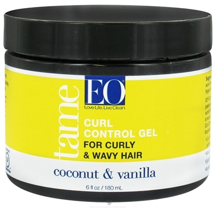DROPPED: EO Products - Tame Curl Control Gel Coconut & Vanilla - 6 oz.