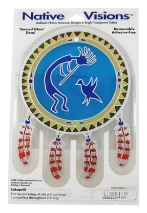 Native Visions - Window Transparencies Kokopelli