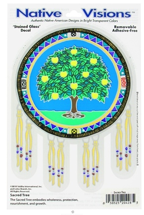 DROPPED: Native Visions - Window Transparencies Sacred Tree - CLEARANCE PRICED
