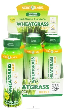DROPPED: Agro Labs - Wheatgrass Boost Shot - 3 oz.