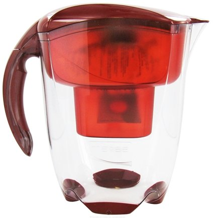 DROPPED: Mavea - Elemaris XL Water Filtration Pitcher 1005722 9-Cup Ruby Red - 3.5 Liter(s) CLEARANCE PRICED