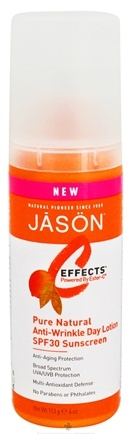DROPPED: Jason Natural Products - C Effects Pure Natural Anti-Wrinkle Day Lotion with Sunscreen 30 SPF - 4 oz.