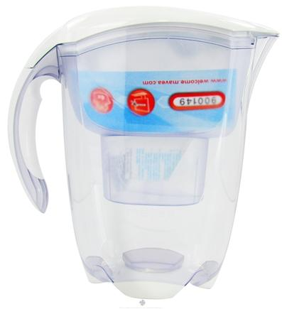 DROPPED: Mavea - Elemaris Water Filtration Pitcher 1001491 5-Cup White - 2.4 Liter(s) CLEARANCE PRICED