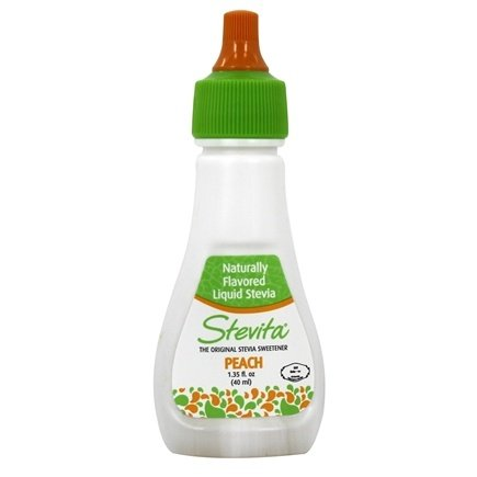 Stevita - Naturally Flavored Liquid Stevia Flavors Peach - 1.35 oz.