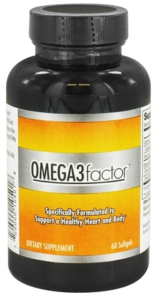 DROPPED: Factor Nutrition Labs - Omega3 Factor Pharmaceutical Grade Fish Oil - 60 Softgels CLEARANCE PRICED