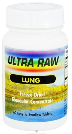DROPPED: Ultra Enterprises - Raw Lung 200 mg. - 60 Tablets