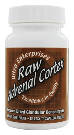Ultra Enterprises - Raw Adrenal Cortex 200 mg. - 60 Tablets