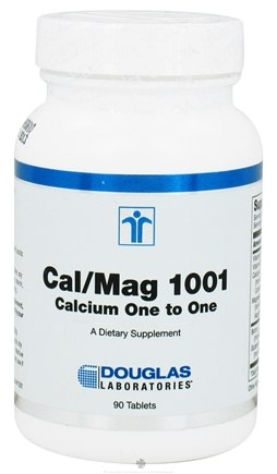 DROPPED: Douglas Laboratories - Cal/Mag 1001 - 90 Tablets CLEARANCE PRICED