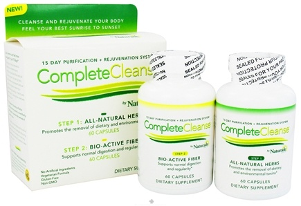 DROPPED: Naturade - Complete Cleanse 15 Day Purification & Rejuvenation System