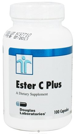 DROPPED: Douglas Laboratories - Ester C Plus - 100 Capsules CLEARANCE PRICED