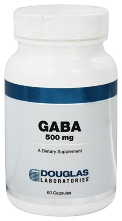 DROPPED: Douglas Laboratories - Gaba 500 mg. - 60 Capsules
