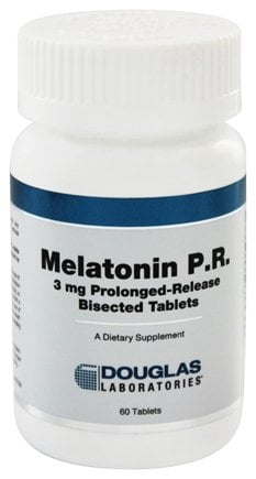 Douglas Laboratories - Melatonin P.R. 3 mg. - 60 Tablets