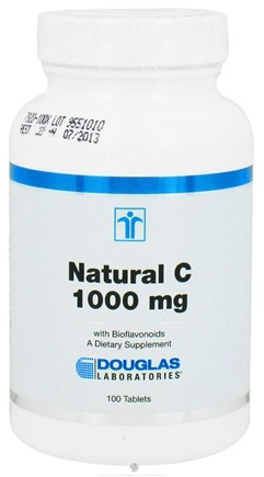 DROPPED: Douglas Laboratories - Natural C 1000 mg. - 100 Tablets