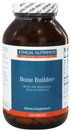 Ethical Nutrients - Bone Builder MCHC With Magnesium Boron & Vitamin D - 220 Tablets