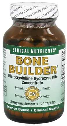 DROPPED: Ethical Nutrients - Bone Builder Microcrystalline Hydroxyapatite Concentrate - 120 Tablets CLEARANCE PRICED