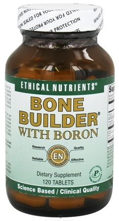 DROPPED: Ethical Nutrients - Bone Builder With Boron - 120 Tablets CLEARANCE PRICED