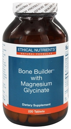 Ethical Nutrients - Bone Builder Magnesium Glycinate - 220 Tablets
