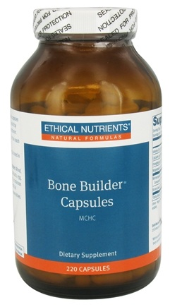 Ethical Nutrients - Bone Builder Capsules - 220 Capsules