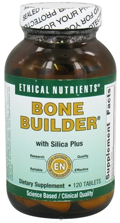 DROPPED: Ethical Nutrients - Bone Builder With Silica Plus - 120 Tablets