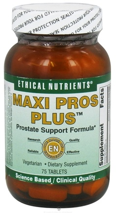 DROPPED: Ethical Nutrients - Maxi Pros Plus - 75 Tablets CLEARANCE PRICED