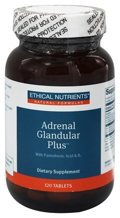 DROPPED: Ethical Nutrients - Adrenal Glandular Plus - 120 Tablets