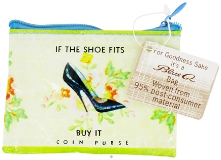 DROPPED: Blue Q - Shoe Money Coin Purse - CLEARANCE PRICED