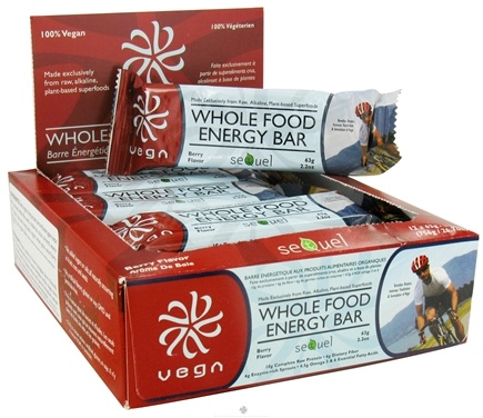 DROPPED: Vega - Whole Food Energy Bar Berry - 2.2 oz.