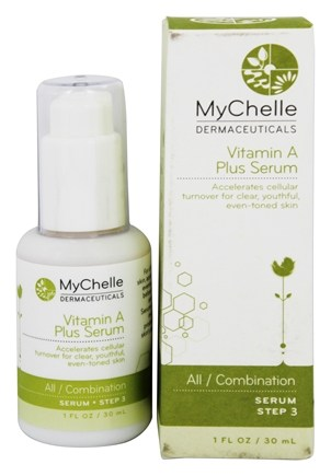 DROPPED: MyChelle Dermaceuticals - Vitamin A Plus Serum - 1 oz.