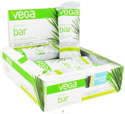 DROPPED: Vega - Plant Based Vibrancy Bar Wholesome Original - 1.8 oz.