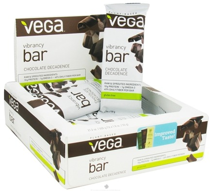 DROPPED: Vega - Plant Based Vibrancy Bar Chocolate Decadence - 1.8 oz.
