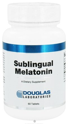 DROPPED: Douglas Laboratories - Melatonin Sublingual 1 mg. - 60 Tablets CLEARANCE PRICED
