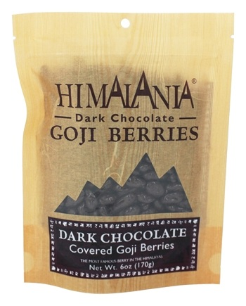 Himalania - Dark Chocolate Covered Goji Berries - 6 oz.