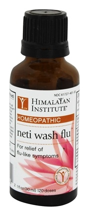 DROPPED: Himalayan Institute - Neti Wash Flu - 1 oz.