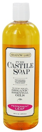 Shadow Lake - Pure Castile Soap Peppermint Leaf - 16 oz.