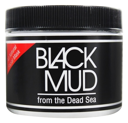 Sea Minerals - Black Mud All Natural Facial Mask from the Dead Sea - 3 oz.