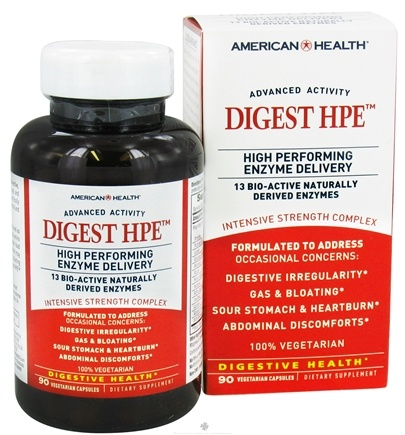 DROPPED: American Health - Digest HPE - 90 Vegetarian Capsules CLEARANCE PRICED