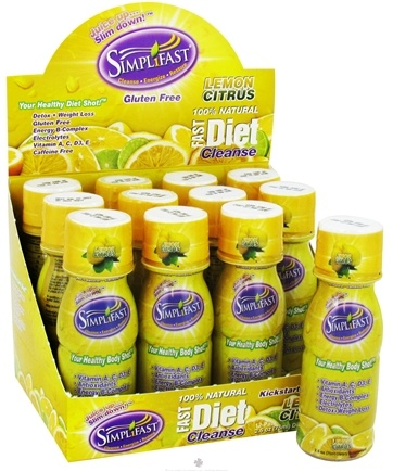 DROPPED: Simplifast - Fast Diet Cleanse 100% Natural Lemon Citrus - 2.5 oz.