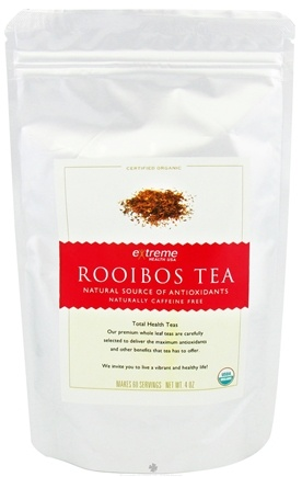 DROPPED: Extreme Health USA - Organic Loose Leaf Rooibos Tea - 4 oz. CLEARANCE PRICED