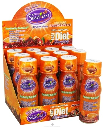 DROPPED: Simplifast - Fast Diet Cleanse 100% Natural Orange Pomegranate - 2.5 oz.