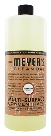 Mrs. Meyer's - Clean Day Multi-Surface Concentrate Rosemary - 32 oz.