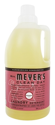 DROPPED: Mrs. Meyer's - Clean Day Laundry Detergent Concentrated 64 Loads Rosemary - 64 oz.